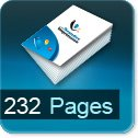 Tarif impression livre 232 Pages