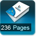 Tarif impression livre 236 Pages