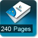 Tarif impression livre 240 Pages