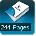 Tarif impression livre 244 Pages