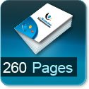 Tarif impression livre 260 Pages