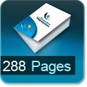 Tarif impression livre 288 Pages