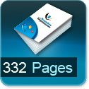 Tarif impression livre 332 Pages