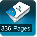 Tarif impression livre 336 Pages