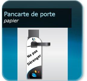 Accroche Porte Pour Chambre Impression Imprimerie En Ligne - Accroche porte