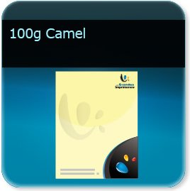 creation de en tete 100g couleur Camel
