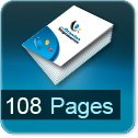 calculer le cout d impression pour brochure 108 pages