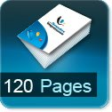 Imprimerie et Impression brochure et catalogue papier 120 pages