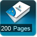 brochure 100 pages 200 pages