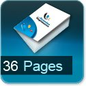 Imprimerie et Impression brochure et catalogue papier 36 pages