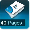 Imprimerie et Impression brochure et catalogue papier 40 pages