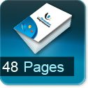 Brochure & catalogue A4 A5 A6 A3 48 pages