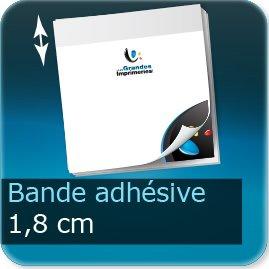 Bloc-note adhésif Bande adhésive de 18.5mm