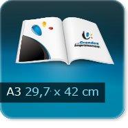 Brochures / Magazines A3 420x297mm