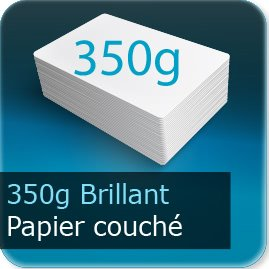 Cartes postales 350g couché brillant