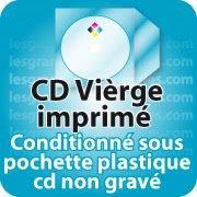 CD DVD Gravure & Packaging Impression CD vièrges livré sous pochette plastique