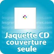 CD DVD Gravure & Packaging Jaquette CD Couverture  seule