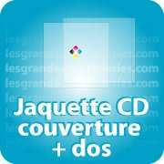 CD DVD Gravure & Packaging Jaquette CD Couverture + Dos