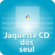 CD DVD Gravure & Packaging Jaquette CD Dos seul