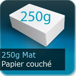 Calendriers 250g couché mat
