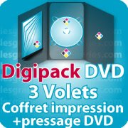 CD DVD Gravure & Packaging Digipack DVD 3 VOLETS
