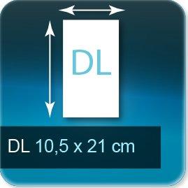 Liasse/Carnet autocopiant DL 105x210 mm