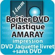 CD DVD Gravure & Packaging DVD boitier AMARAY14mm seule sans dvd