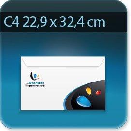 Enveloppes Enveloppe C4 229 X 324 mm, Fermeture autocollante avec bande de protection