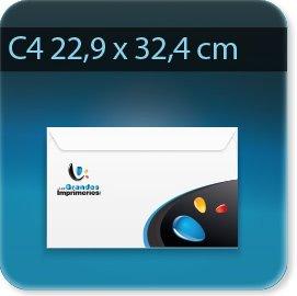 Enveloppes C4 229 X 324mm, Fermeture Patte gommée trapézoïdale, Forme universelle pour tous matériels