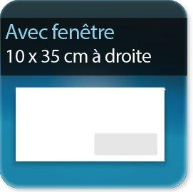 Enveloppes gamme enveloppe prestige enveloppe dl 110 x for Enveloppe avec fenetre