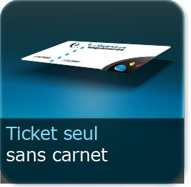 Carnets de tickets Tickets indépendant (sans carnets)