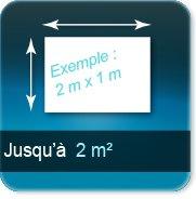 Autocollant & Étiquette jusqu à 2 m²