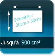 Autocollant & Étiquette jusqu à 900 cm²