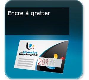 carton invitation personnalisé Encre grattable