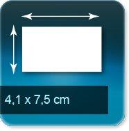 Magnets 41x75mm
