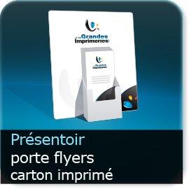 Présentoir de flyers personnalisé PLV porte-Flyer