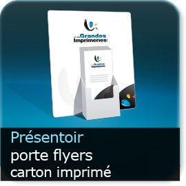 Présentoir PLV porte-Flyer