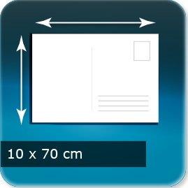 carte postale personnalisée 100x70mm