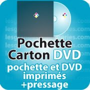 CD DVD Gravure & Packaging Pressage de DVD + pochette carton