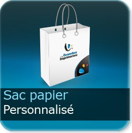 Sac papier personnalisé Sac Papier personnalisé