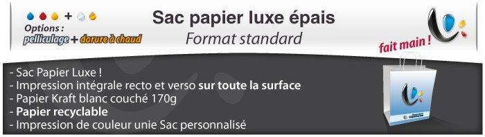 Sac Publicitaire Sac Papier Luxe