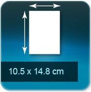 Autocollant & Étiquette 105x148mm