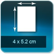 Autocollant & Étiquette 40x52mm