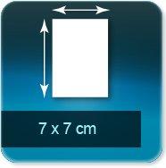Autocollant & Étiquette 70x70mm