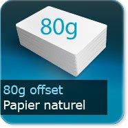 Sets de table Papier offset 80g